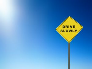 Drive Slowly Sign Charlotte North Carolina Personal Injury Workers' Compensation Wrongful Death Attorney Lawyer.jpg