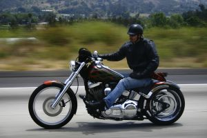 Motorcycle on road Charlotte North Carolina Personal Injury Wrongful Death Attorney Lawyer.jpg
