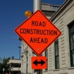 Construction sign Charlotte Injury Attorney North Carolina Car Accident Lawyer