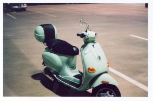 Moped-parked-Charlotte-Injury-Lawyer-North-Carolina-Accident-Attorney