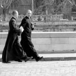 Priests walking Charlotte Injury Lawyer Mecklenburg County North Carolina Wrongful Death Attorney
