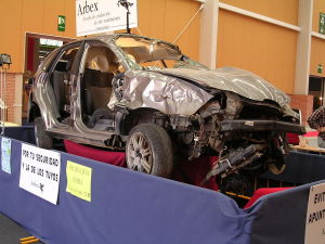 Wrecked car Charlotte Death By Vehicle Lawyer North Carolina Injury Attorney