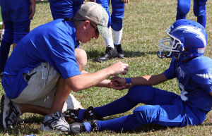 Coach and player Charlotte Injury Attorney North Carolina accident Lawyer