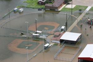 Flooded field Charlotte injury lawyer North Carolina Wrongful death attorney