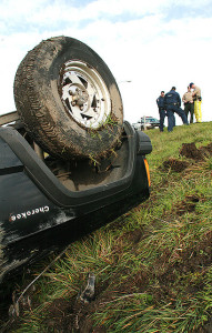 Overturned Car Accident Charlotte Injury Law firm North Carolina negligence Lawyer