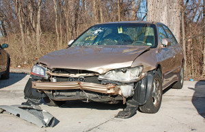 Wrecked car Charlotte Injury Lawyer North Carolina Car Accident Attorney