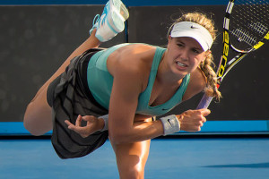 Eugenie Bouchard Tennis Slip and Fall Attorney Charlotte Injury Lawyer