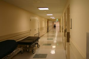 Hospital Hallway Charlotte Injury Lawyer Mecklenburg Wrongful death attorney