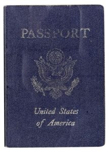 Passport book Charlotte Injury Law Firm