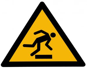 caution-tripping-hazard-Personal-injury-settlement-award-Charlotte-Monroe-Lake-Norman-Personal-Injury-Lawyer-300x239