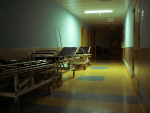 hospital-hallway-Charlotte-Monroe-Mooresville-Wrongful-Death-Attorney-300x225