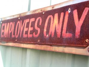 employees-only-sign-Charlotte-Monroe-Lake-Norman-300x225